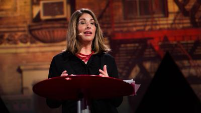 Cover art for How shocking events can spark positive change | Naomi Klein